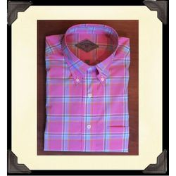 """<a href=""""https://mettlersamerica.com/index.php?route=product/product&path=60_73&product_id=318"""">Tisbury Plaid Cotton Shirt</a>, $105 at Mettler's American Mercantile."""