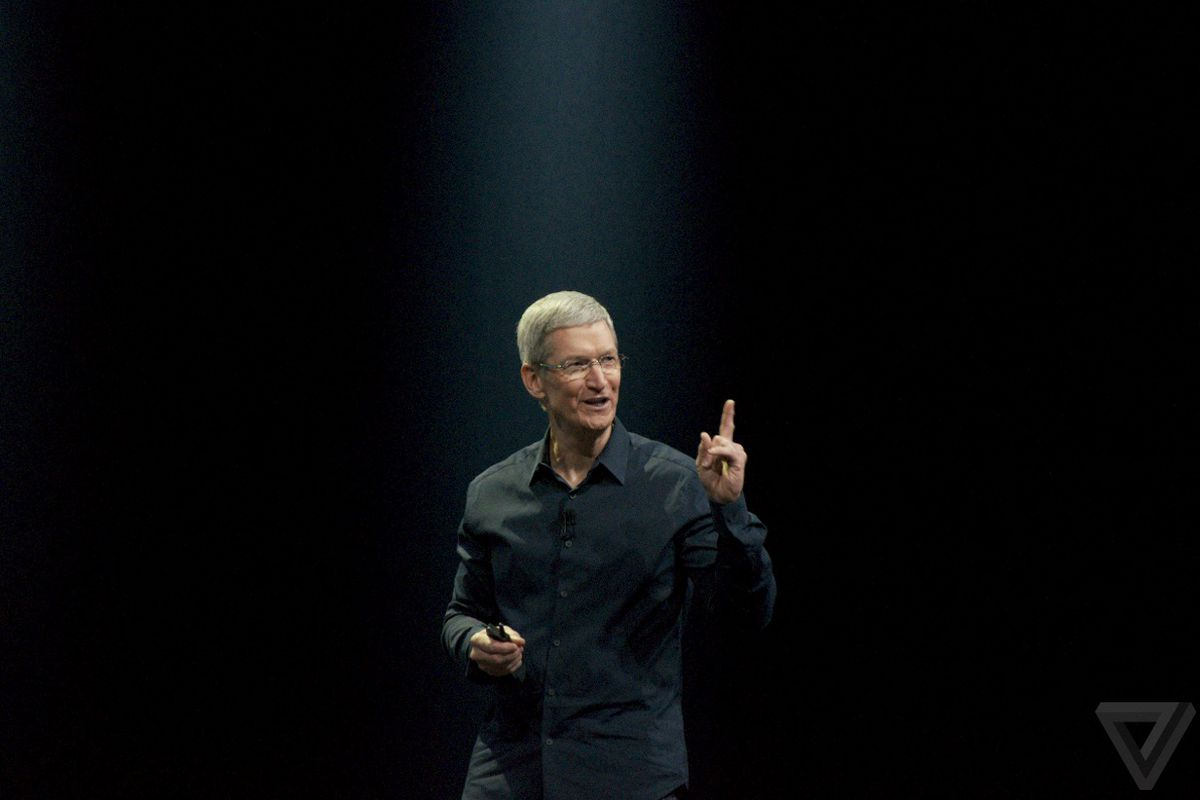 Apple's Tim Cook has some ideas about Android.