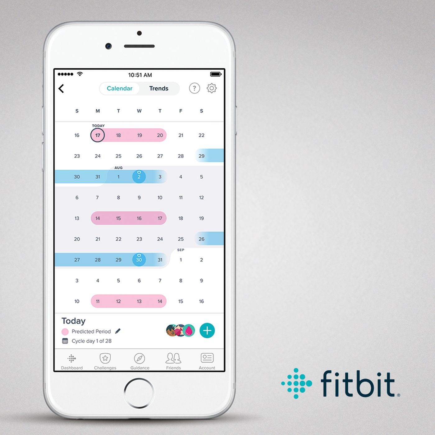 Fitbit will start tracking your period in an attempt to add more