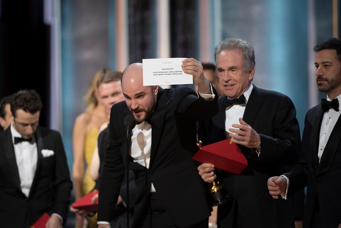 A colossal Oscars screw-up