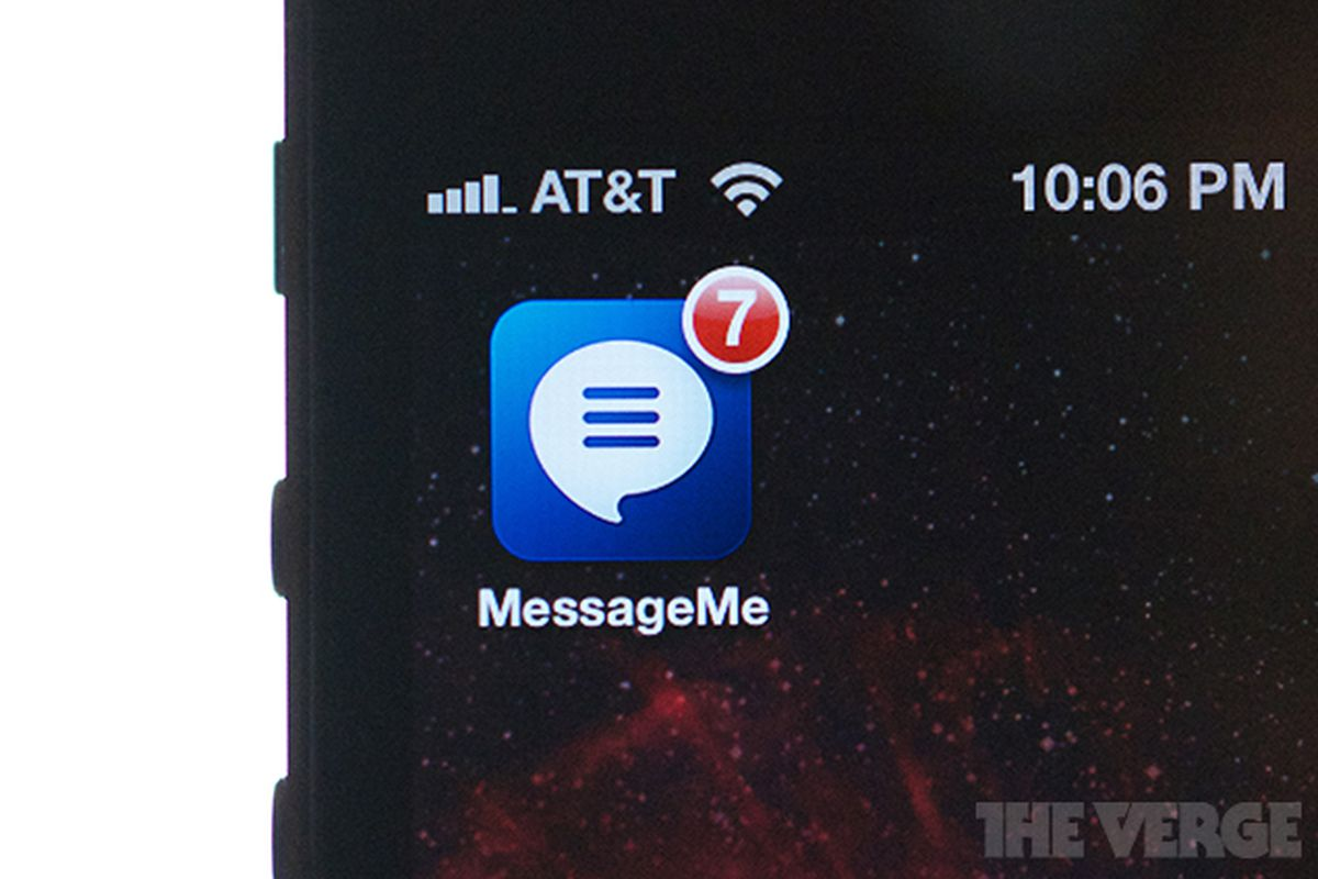 Messageme app icon