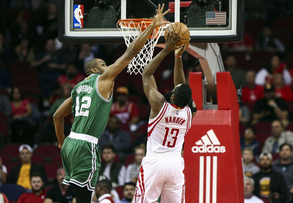 NBA: Boston Celtics at Houston Rockets