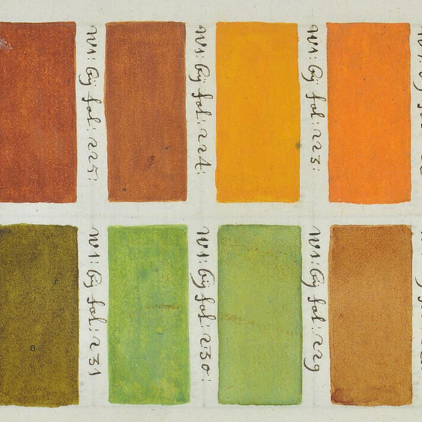 Before Pantone, there was this hand-painted 17th century