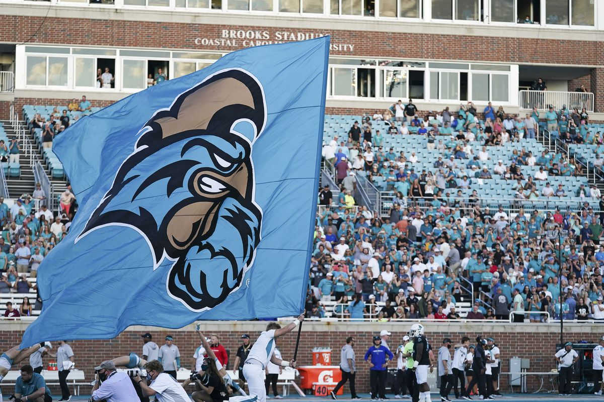 NCAA Football: The Citadel at Coastal Carolina