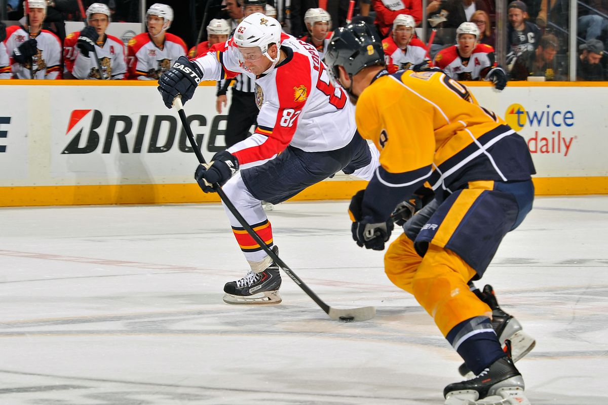 Nashville's Filip Forsberg scored the winning goal in the shootout.