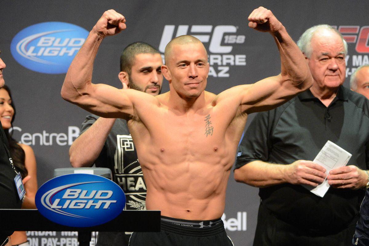 UFC 167: Georges St  Pierre wants Johny Hendricks to join