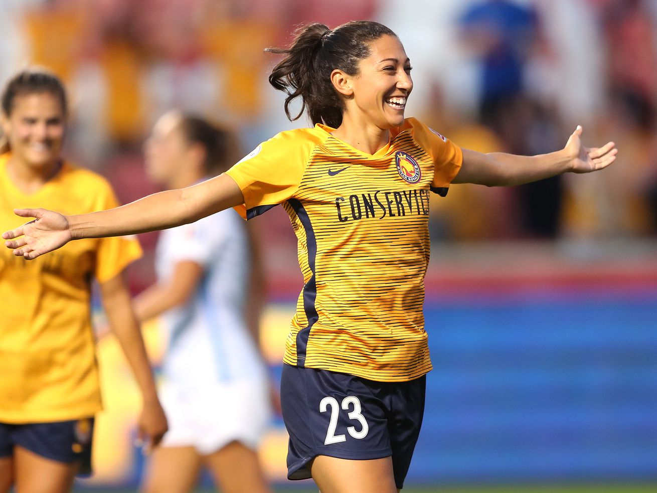 Utah Royals FC forward Christen Press named National Women's Soccer League Player of the Month for August