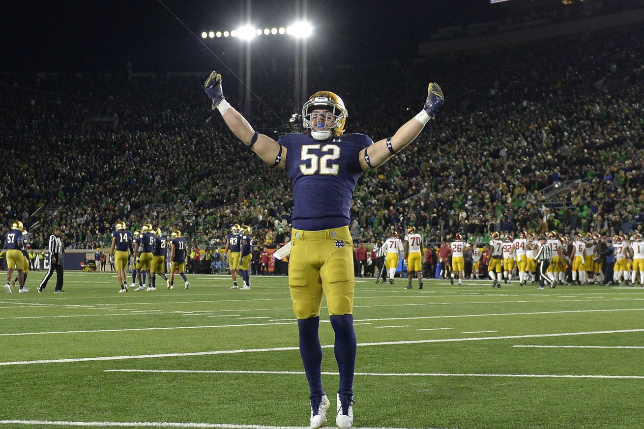 Bagpipe Monday: How's this going to end for Notre Dame?