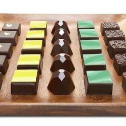 Mayana Chocolates' hand-crafted chocolates and confections come in 16-piece bonbon collections for $37, and bars for $7.