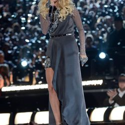 And <i>more</i> Carrie Underwood. Love her, but she's kind of channeling Florence Welch in this one, yes?
