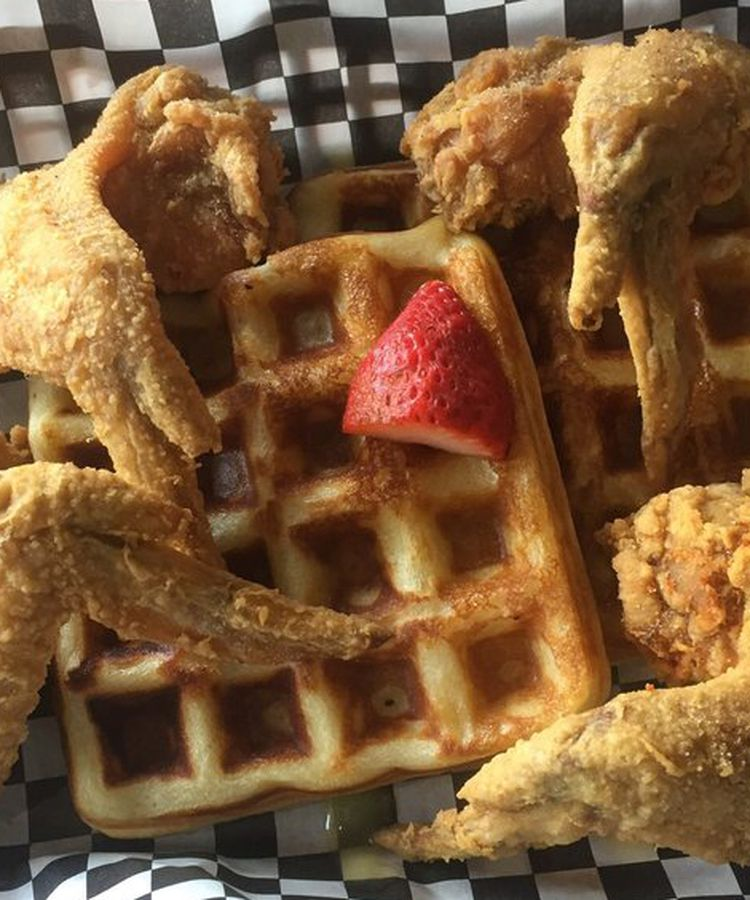 14 Places To Devour Chicken And Waffles In Austin
