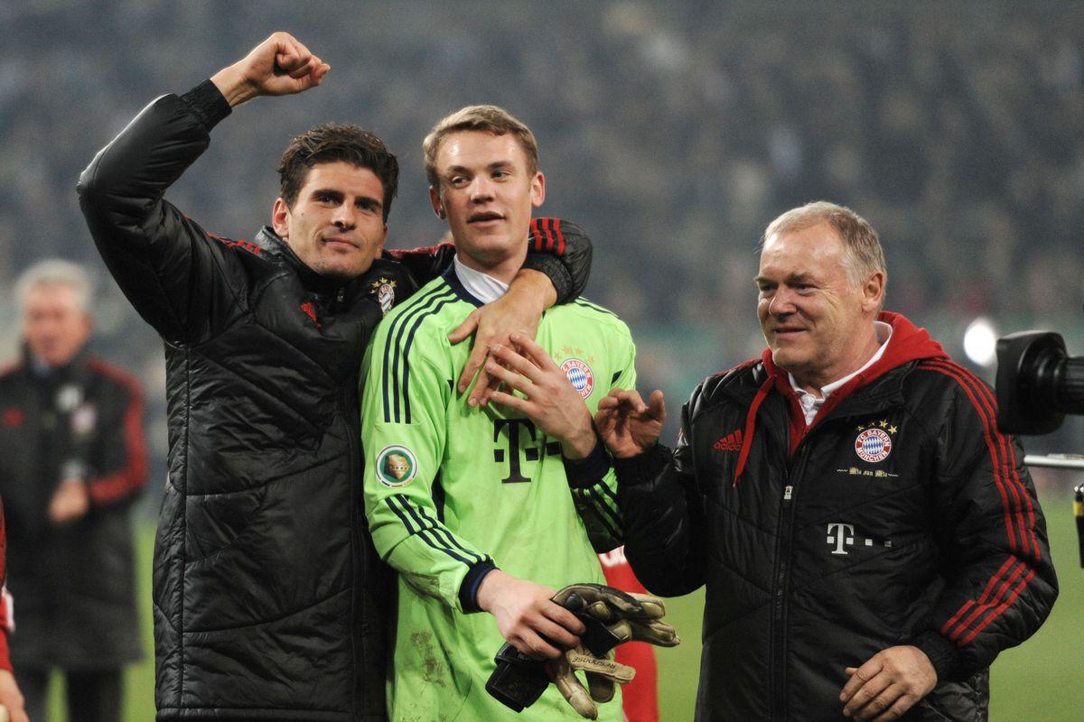 DFB-Pokal, Mönchengladbach - Bayern München