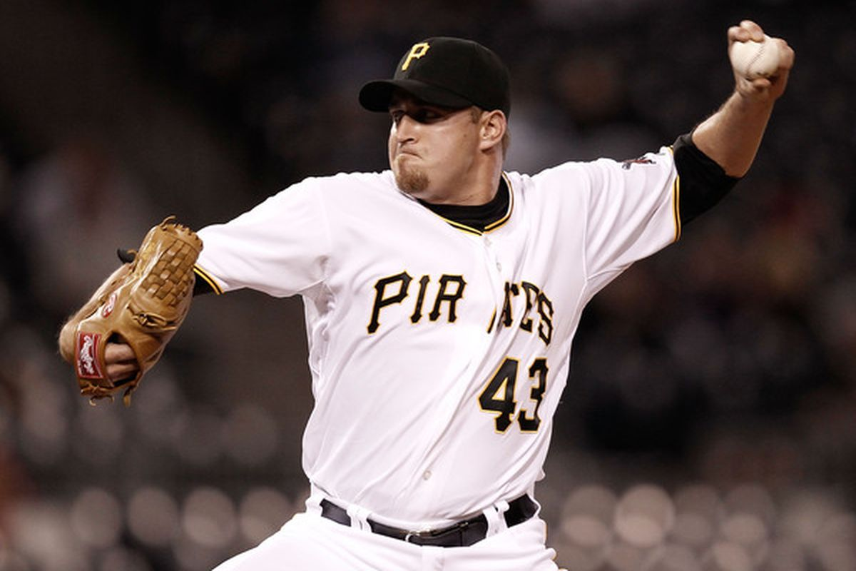 PITTSBURGH - APRIL 20:  Jack Taschner #43 of the Pittsburgh Pirates pitches against the Milwaukee Brewers during the game on April 20, 2010 at PNC Park in Pittsburgh, Pennsylvania.  (Photo by Jared Wickerham/Getty Images)