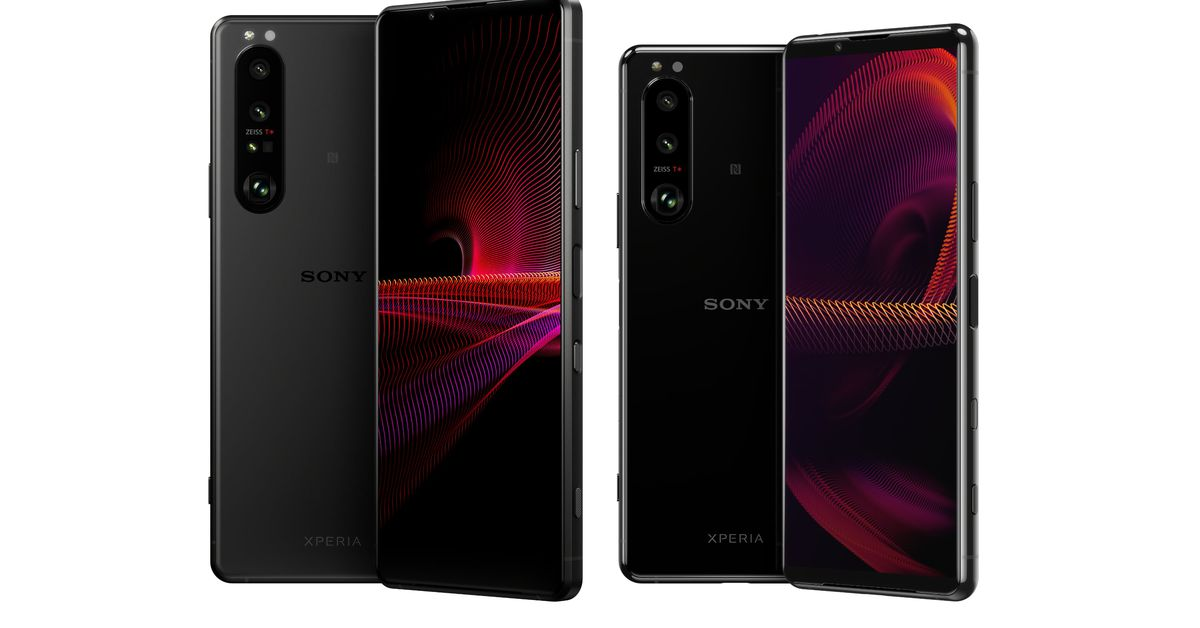 Sony announces the Xperia 1 III and Xperia 5 III with variable telephoto lenses – The Verge