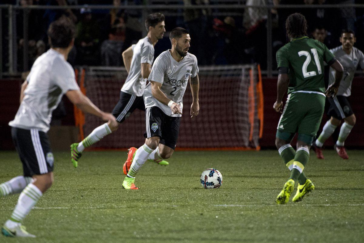 MLS: Desert Friendlies-Seattle Sounders vs Portland Timbers