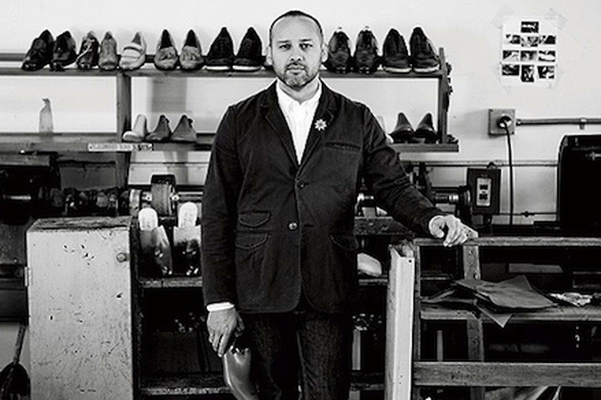 """This guy makes really, really nice shoes. Image via <a href=""""http://www.esquire.com/blogs/mens-fashion/george-esquivel-profile-0211"""">Esquire</a>"""