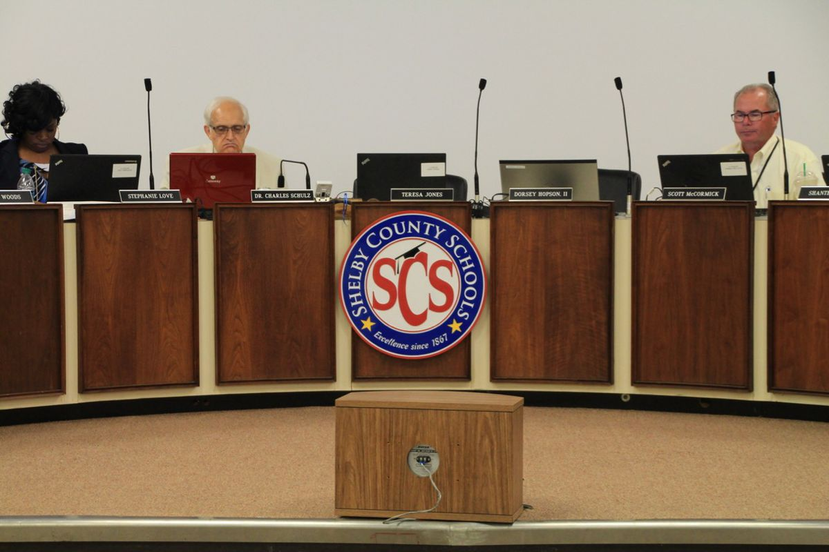 Fifteen people are vying for four seats on the Memphis school board. The election is Aug. 2.