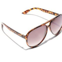 """You can't run, but you CAN hide from humidity on a day when it gets the best of you. Throw on a pair of stylish shades to help shield the shine. <a href=""""http://www.southmoonunder.com/A.J.-Morgan-Plastic-Frame-Aviator-Sunglasses/158883,default,pd.html?sta"""