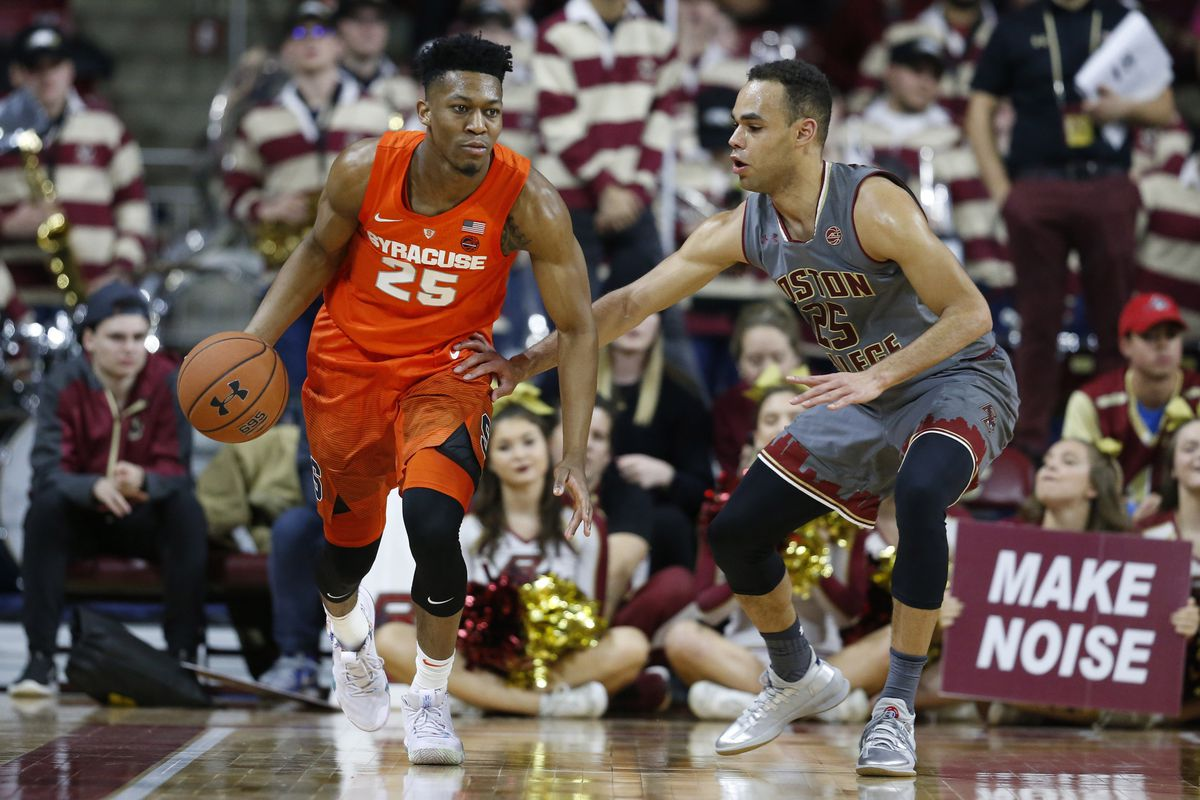 Tyus Battle Plays Point Guard In Second Half To Fuel Syracuse