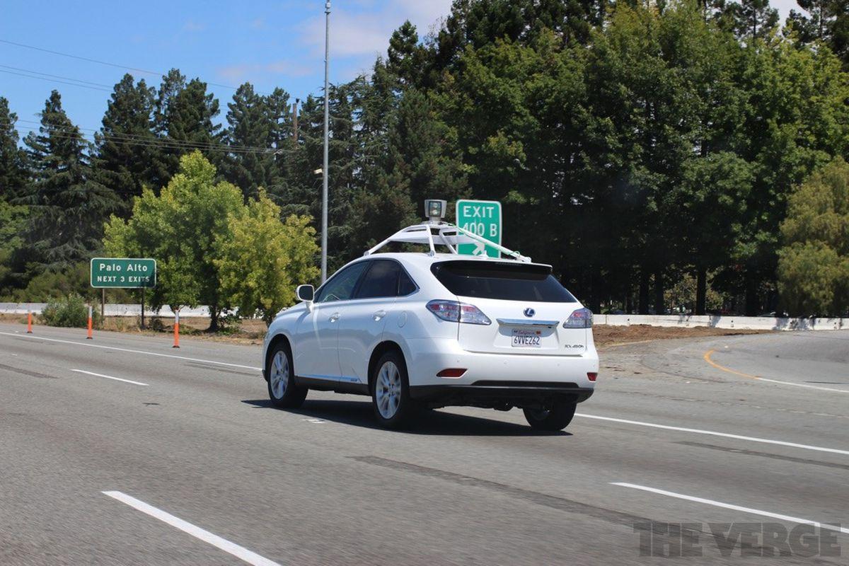 Google self driving autonomous car stock 1024