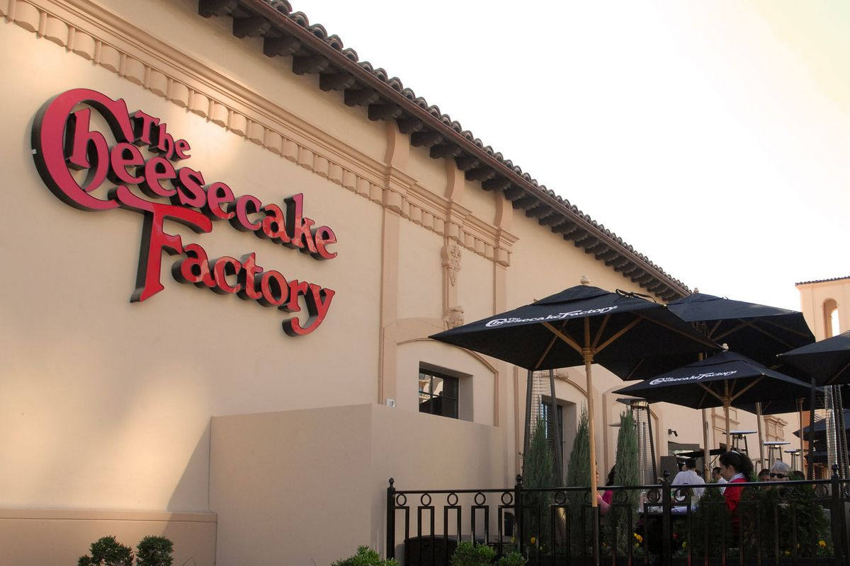 A Cheesecake Factory in San Diego