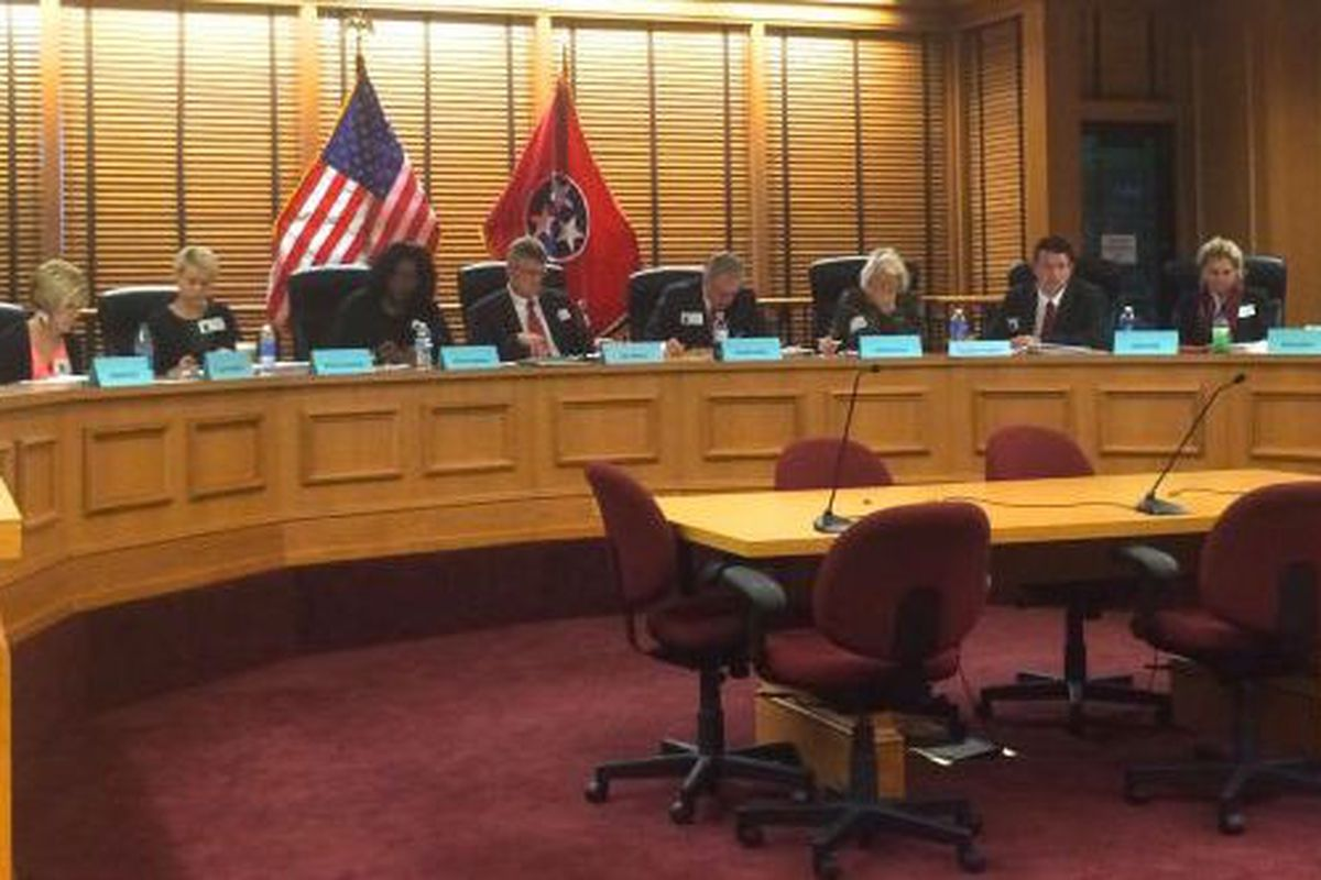 Members of the Academic Standards Recommendation Committee convene Tuesday in Nashville for their third meeting.