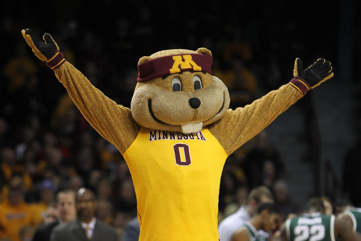 Goldy loves the Golden Gophers, but he's hating the drawn-out winter.