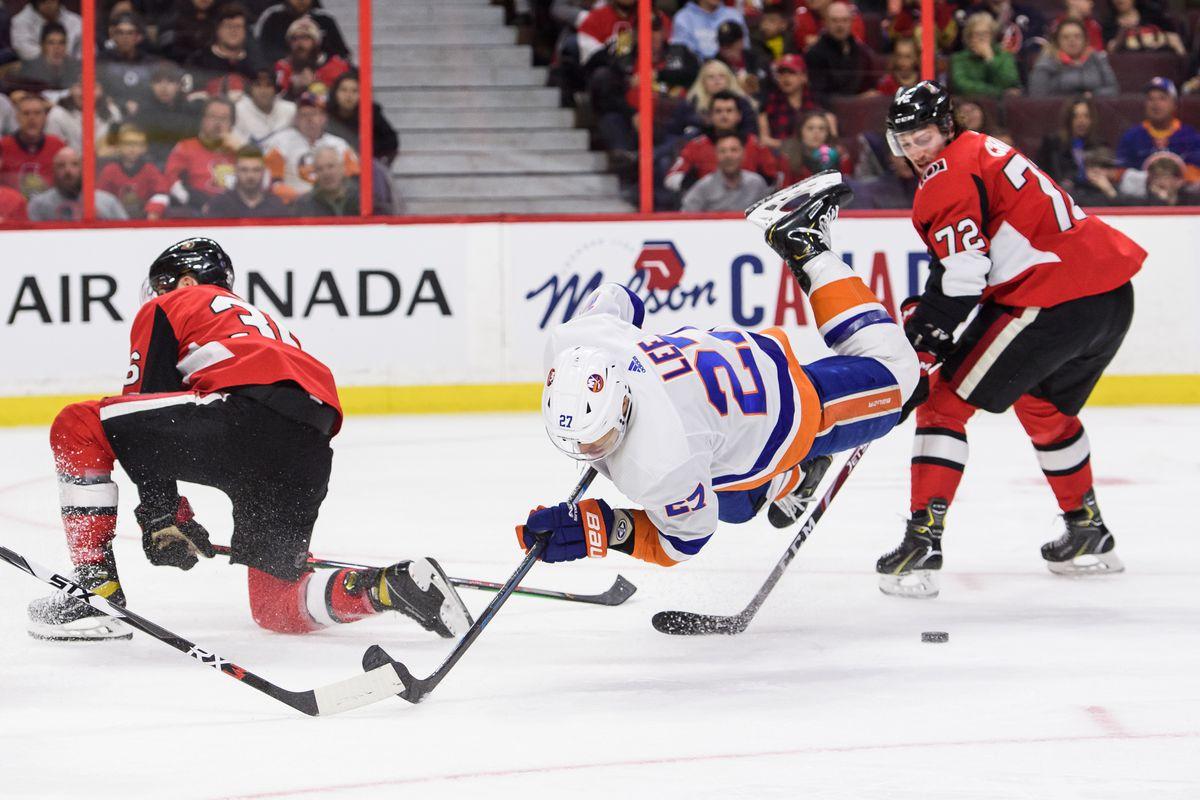 NHL: MAR 05 Islanders at Senators