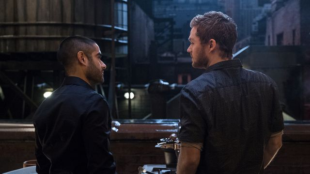Danny and Davos in <em>Iron Fist</em>'s second season.