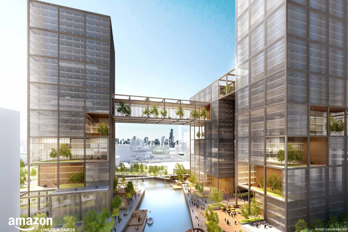 Amazon Reps Spotted At Chicago S Finkl Steel Site Curbed