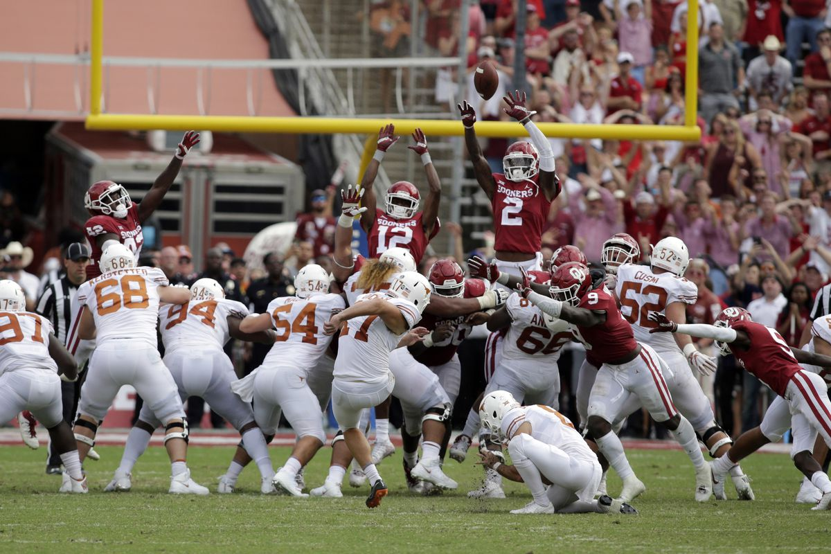 46d490f0b Five plays that changed the game in Texas  48-45 Red River Showdown win  over Oklahoma