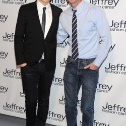 Jason Wu and Jeffrey Kalinsky attends the 8th annual Jeffrey Fashion Cares on the Intrepid Aircraft Carrier on March 28, 2011 in New York City.
