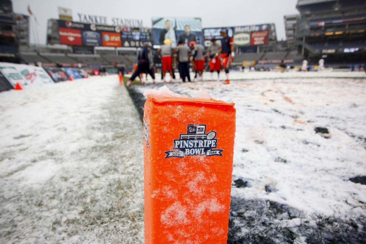 Well, it doesn't always snow in the Bronx...but when it does, don't eat the yellow snow.