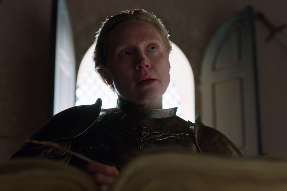 """Brienne on """"Game of Thrones."""""""