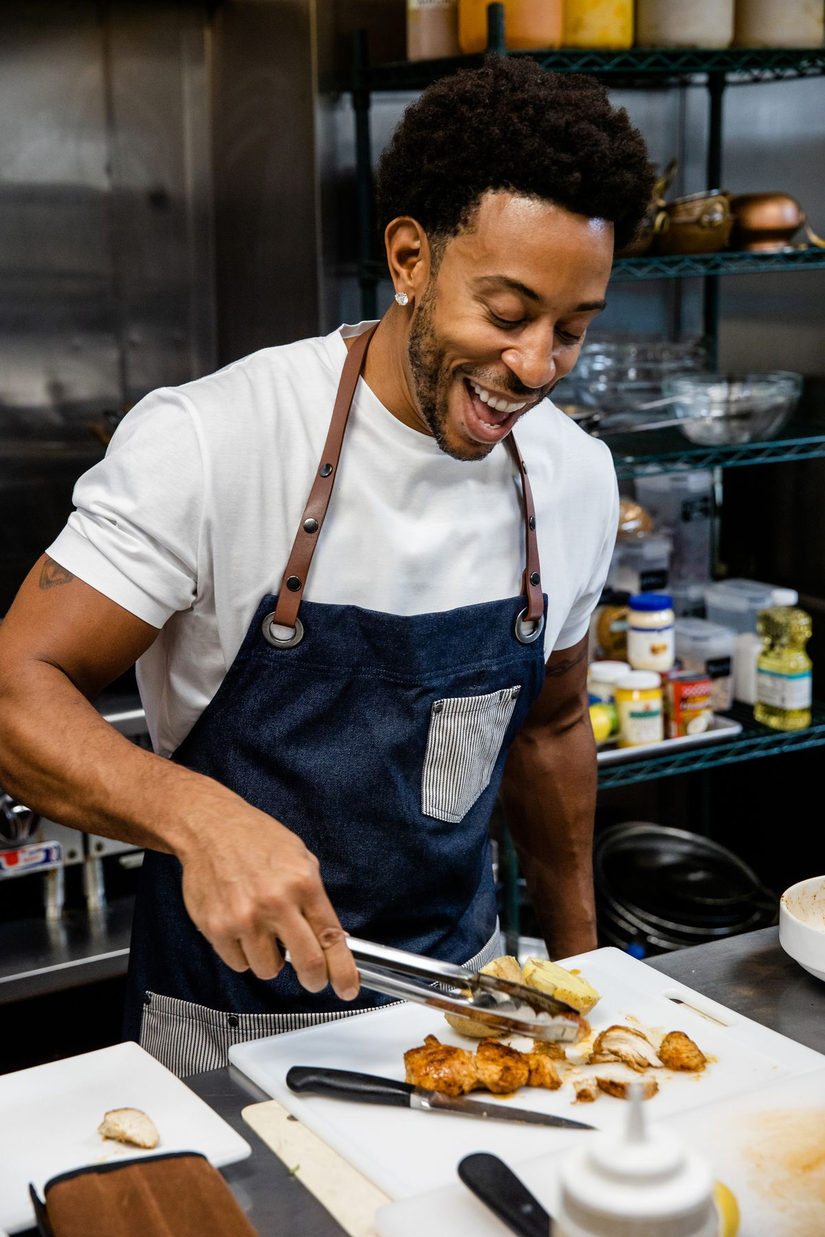 """Ludacris tries his hand at cooking in the new streaming special """"Luda Can't Cook."""""""