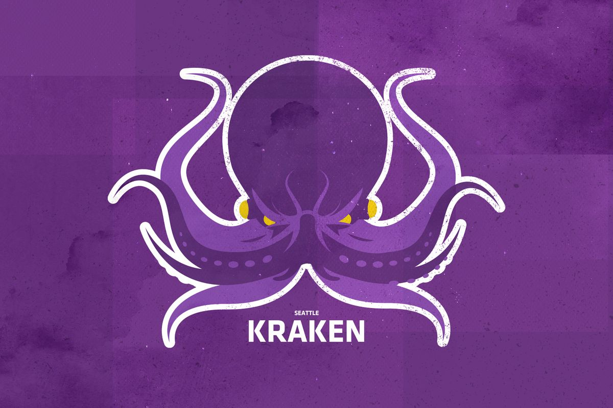 We made a Seattle Kraken logo and uniform concepts because