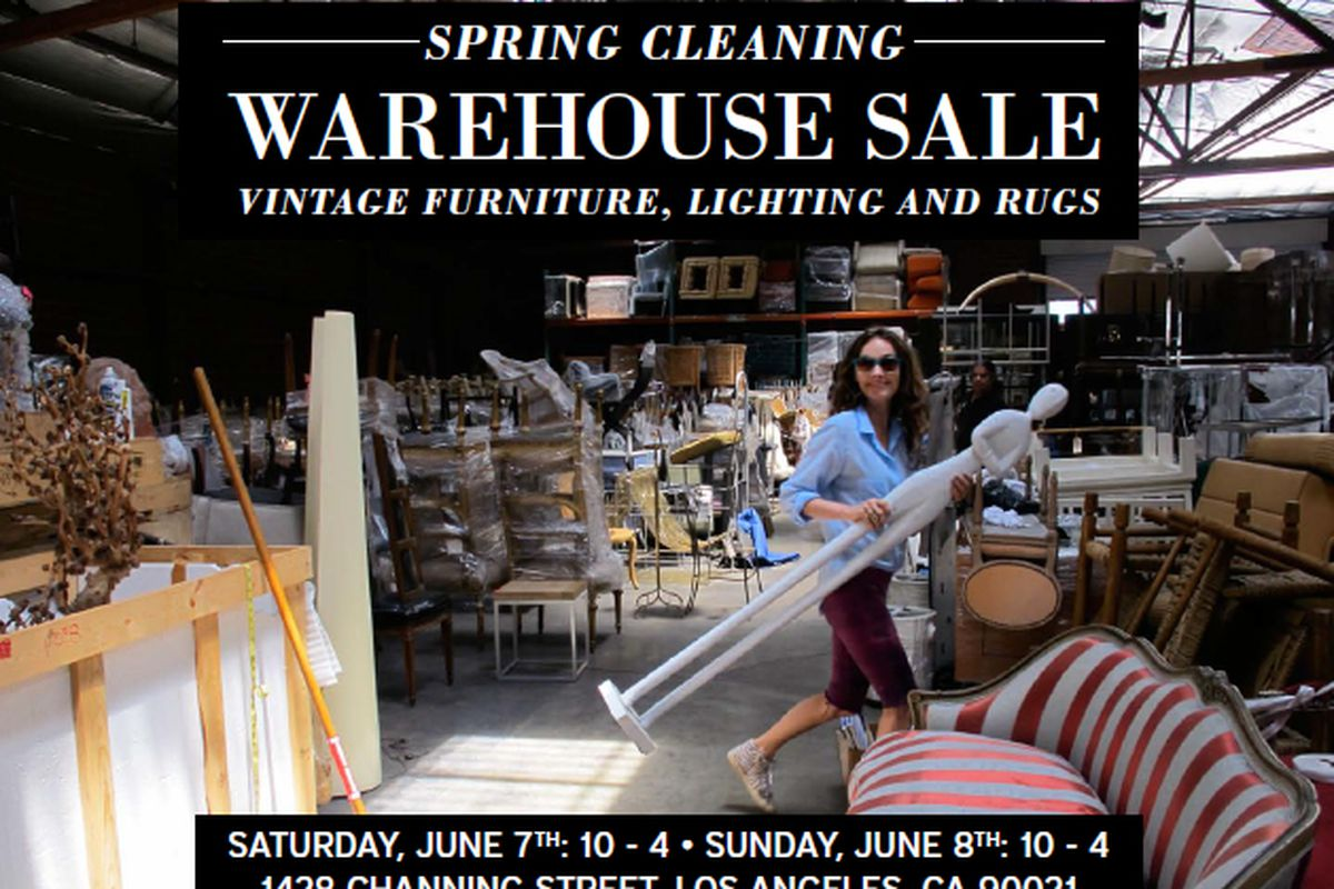Score home d cor gems at kelly wearstler 39 s warehouse sale for Home decorators warehouse sale