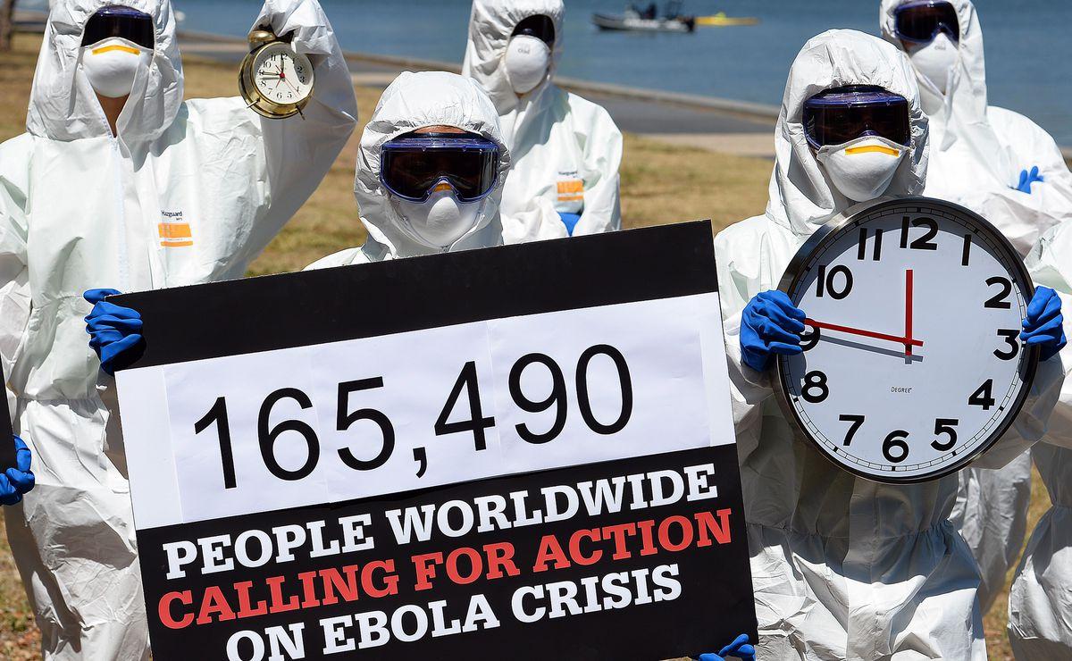 Ebola Protest 2