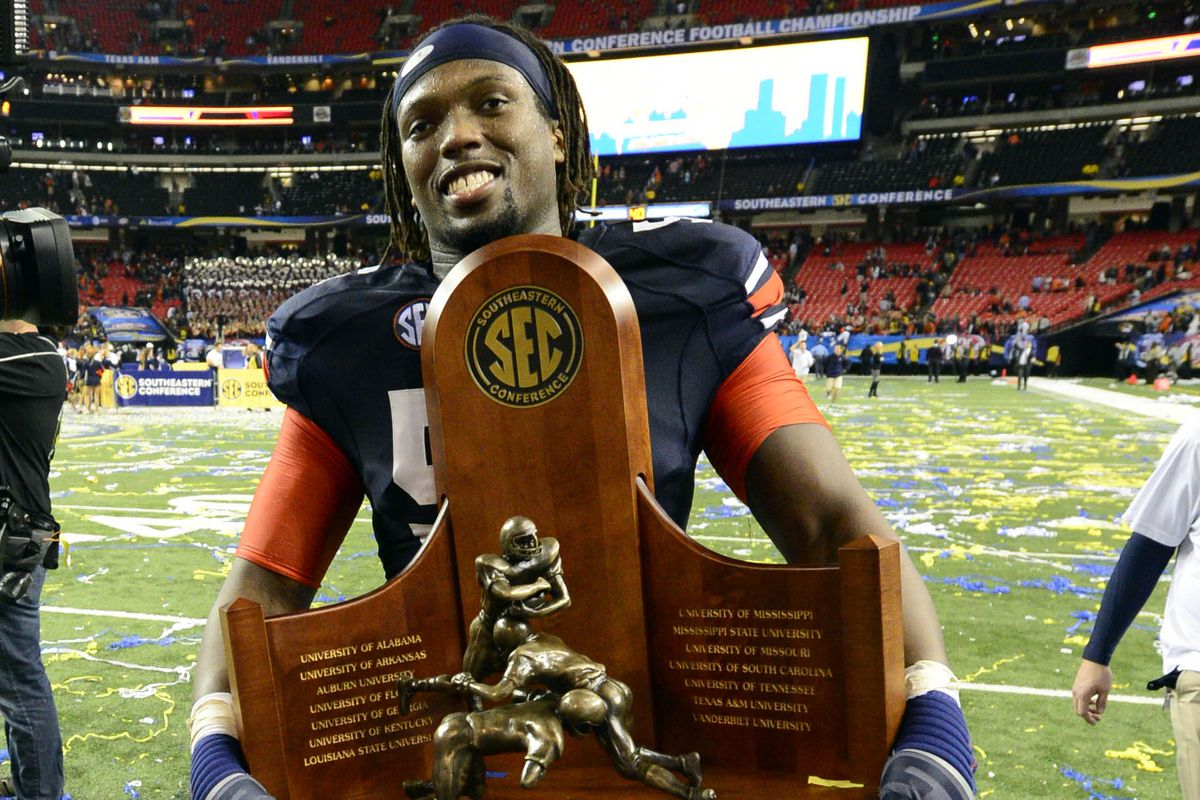 That sure is a pretty trophy, Avery. Hope you can carry it off the field again, this year.