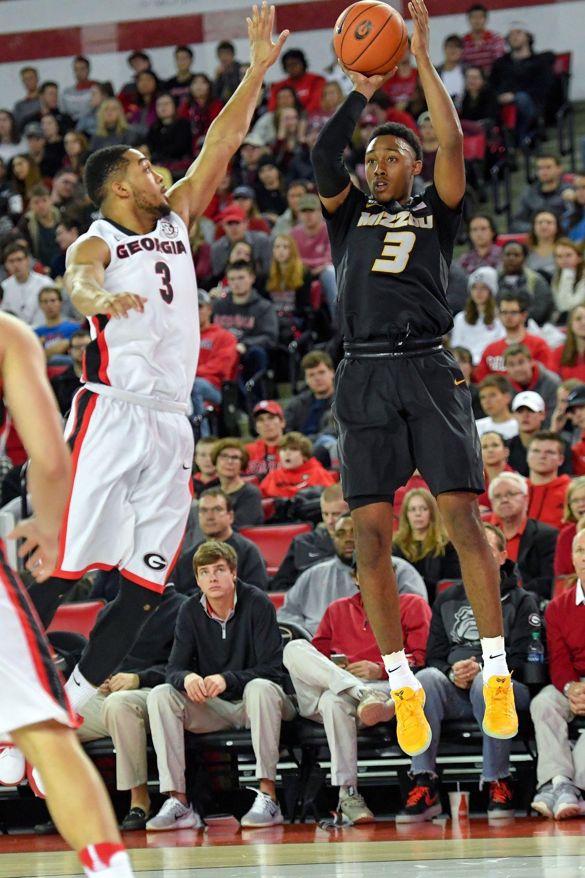 NCAA Basketball: Missouri at Georgia