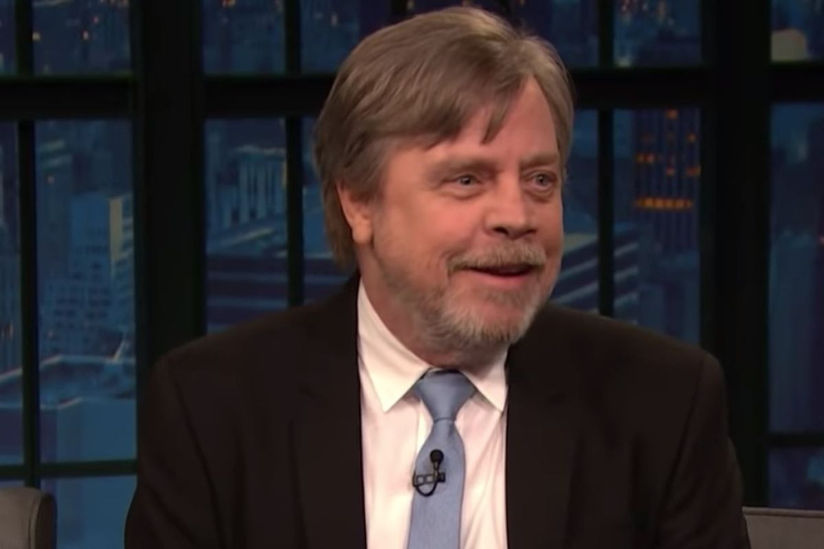 """Hamill guest starred on """"Late Night"""" Tuesday and told host Seth Meyers about his love of teasing """"Star Wars"""" fans and how Disney has responded to his trolling."""