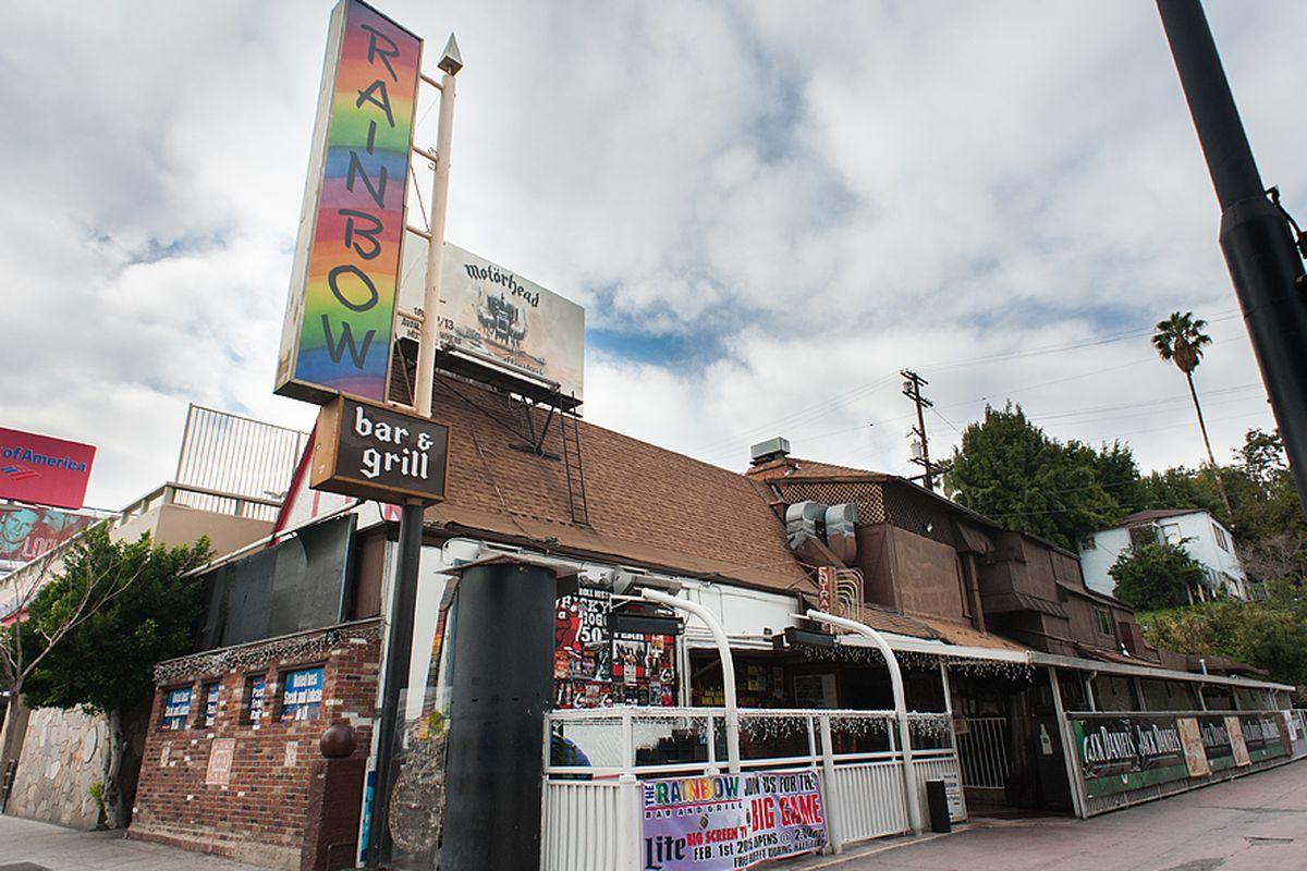 Rainbow Bar & Grill, Sunset Strip