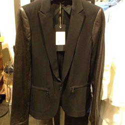 Women's combo blazer, $350