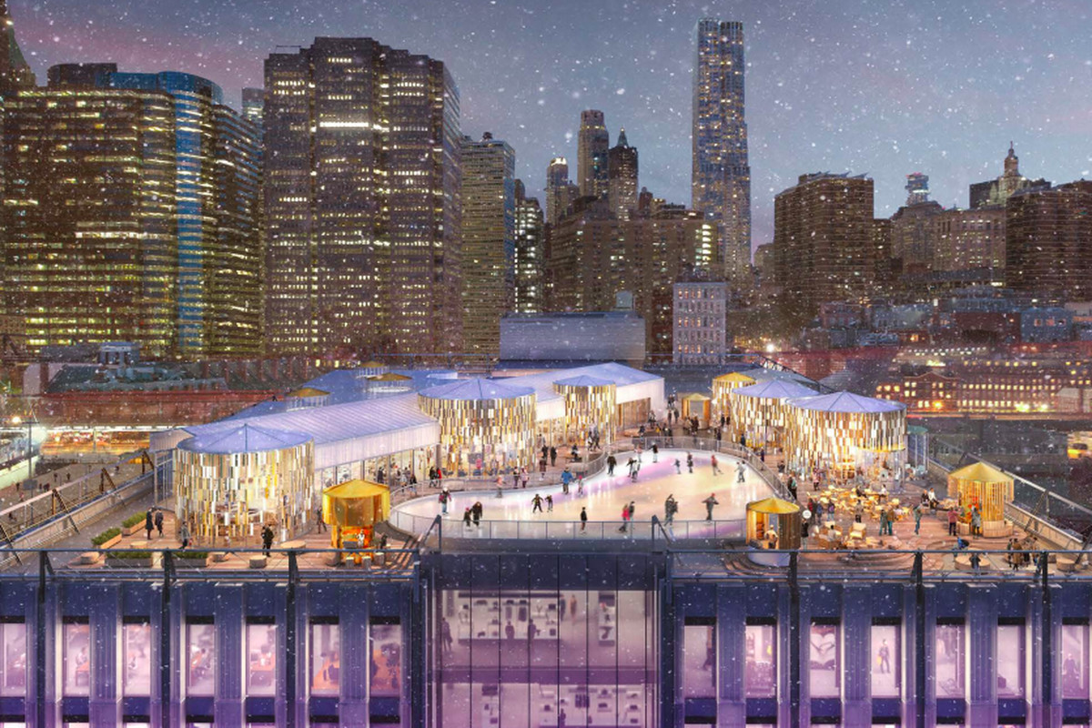 South Street Seaport S Pier 17 Will Get Ice Skating Rink