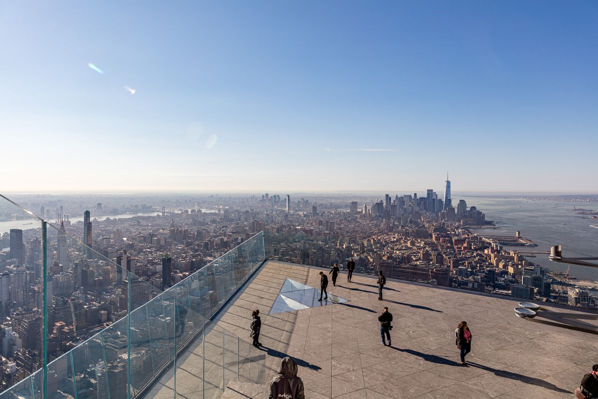 Photos Hudson Yards Observation Deck S Incredible Endless Views Curbed Ny