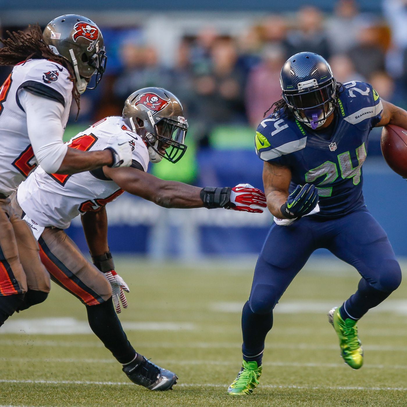 Marshawn Lynch discussed joining the Bucs with Tom Brady - Bucs Nation