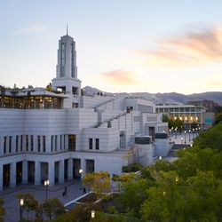 The Conference Center in Salt Lake City is pictured before the Saturday morning session of The Church of Jesus Christ of Latter-day Saints' 191st Semiannual General Conference on Oct. 2, 2021.