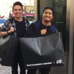 """<b>If it's too large to fit in the ginormous Alexander Wang X H&M bags, it's too large for an SF apartment</b><br> We've all seen those metal """"size-wise"""" stands near the airport check-in counters that say something to the effect of, """"If your bag doesn't"""