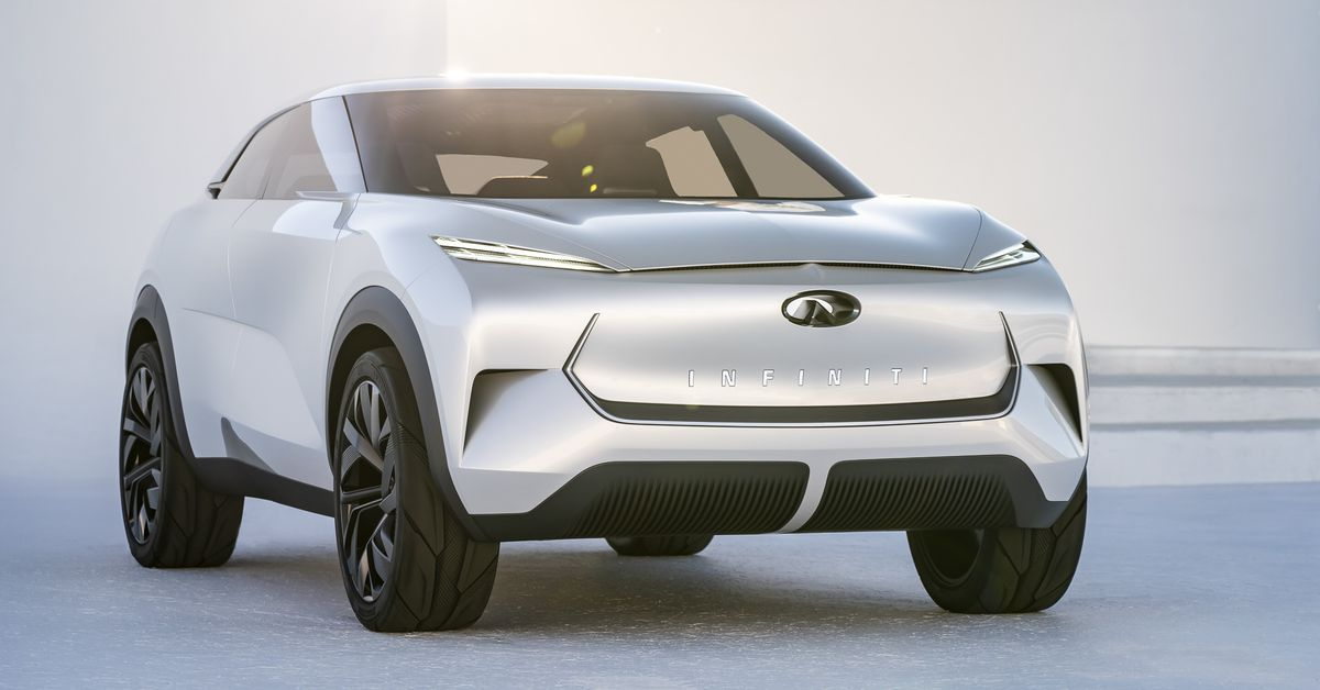 QnA VBage Infiniti's first all-electric car will be inspired by this flashy concept