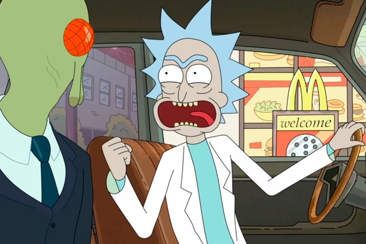 Image result for schezwan sauce rick and morty